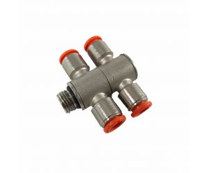 Air distributor 4cyl. 8mm