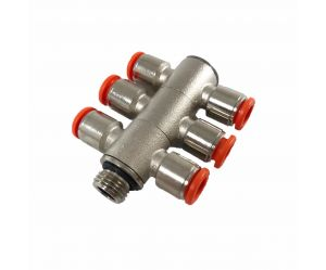 Air distributor 6cyl 8mm
