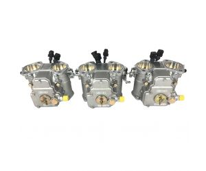 Jenvey Heritage fuel injection EFI ITB throttle bodies based on Classic car Webber DCOE flange TDT40 TDT45 TDT48