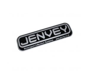 Sticker Jenvey silver  - large